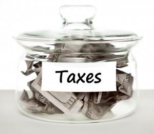 Distribution of property: The taxman cometh